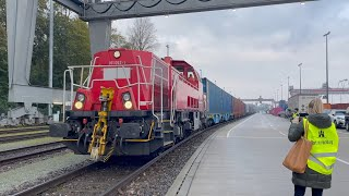 GLOBALink | Hamburg welcomes first China-Europe freight train from Shanghai amid logistics tension