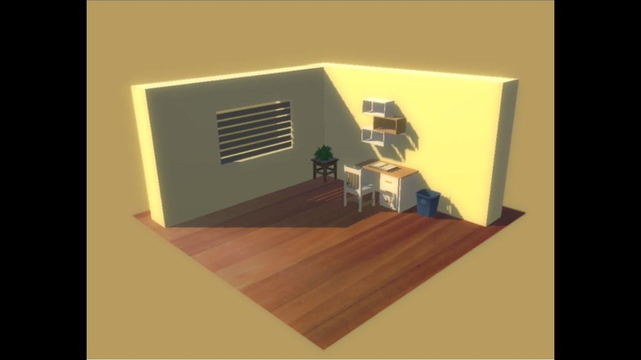 How To Make A Room In Unity D