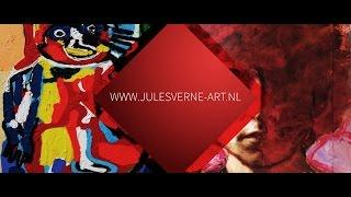 Kunstgalerie Jules Verne Art, gevestigd in meubelzaak De Donjon in Son. www.julesverne-art.nl