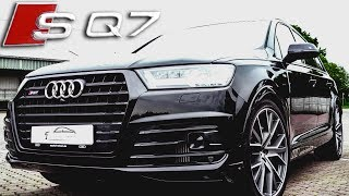 Audi SQ7 Sound 2017 Test - Active Sound Exhaust Tuning (+English subtitles)