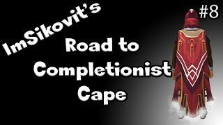RS: I GOT A 120!! - Road to Completionist Cape #8 - RuneScape