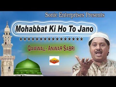मुहोब्बत की हो तो जानो__Mohobbat Ki Ho To Jano || Anwar Sabri Qawwal || Sonic Enterprise