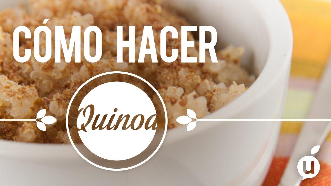C mo preparar quinoa receta de quinoa c mo hacer for Como cocinar quinoa