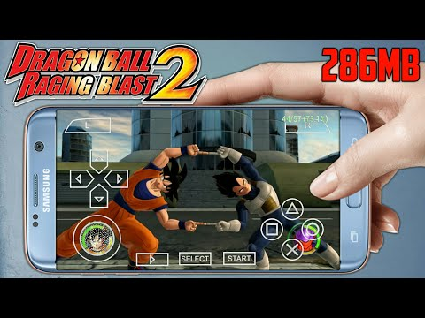 280MB] Dragon Ball Raging Blast 2 MOD PPSSPP ISO On Android