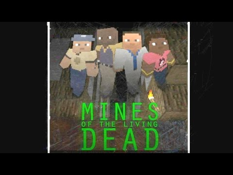 Left 4 Dead 2 - Minecraft Mod - Mines of the Living Dead Custom Survival Map Gameplay Playthrough