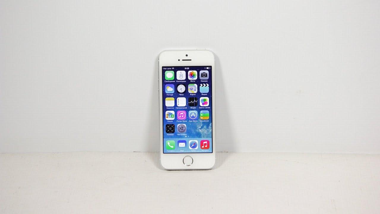 Видео обзор смартфона Apple iPhone 5S