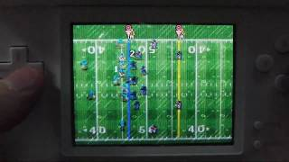 Tecmo Bowl: Kickoff Gameplay on the DS