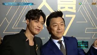 171203 EXO LAY ZHANG YIXING 张艺兴 — Tencent Video Star Award Red Carpet thumbnail