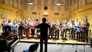 Vysokoškolský pěvecký sbor - Nahrávání CD 16.11.2013 - Ej vandriovali hudci 2/2