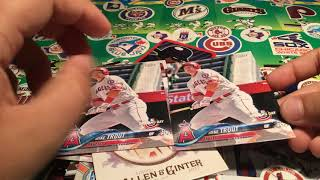 Collection of Harpers and Trouts Baseball cards