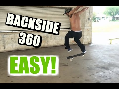 SKATE HACKS: How to Backside 360 EASY