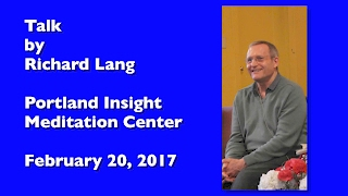 Richard Lang at PIMC (Portland Insight Meditation Centre)
