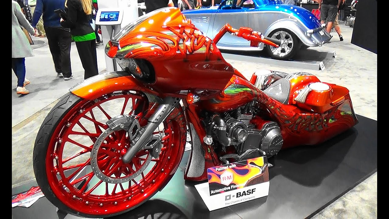Custom Motorcycle Paint Atlanta
