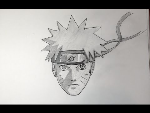 Comment dessiner naruto shippuden etape par etape youtube - Comment dessiner sasuke ...