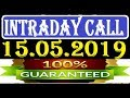 IntraDay Top 3 Jackpot Call  15.05.2019  || today stock || intraday || best stock for 2018