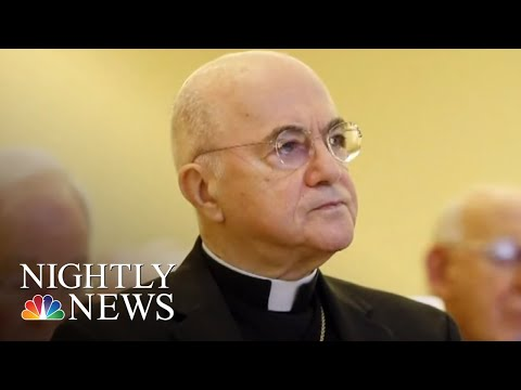 'Shame On You:' Parishioner Confronts Cardinal Wuerl About Church Abuse Scandal | NBC Nightly News