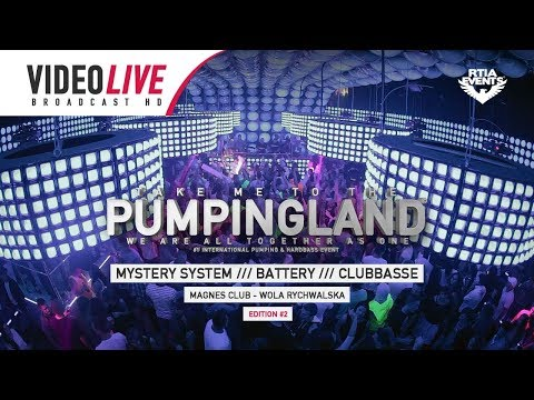 🎬 Video Live - Magnes - Pumpingland #2 [Mystery System /// Battery /// Clubbasse] || RE-UPLOAD