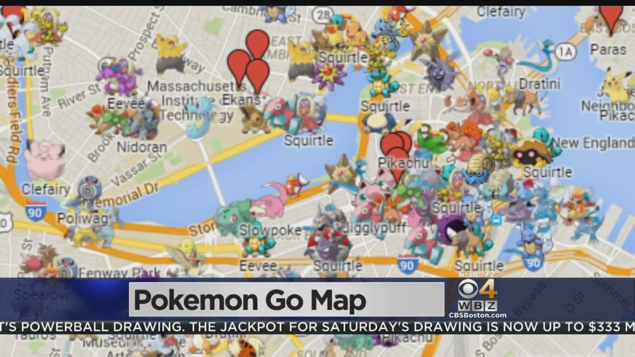 Pokemon Go Boston Map Where Are The Rare Pokemon Around Boston? Google Maps Shows The
