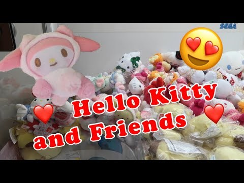 Hello Kitty And Friends At Sanrio Puroland!!!