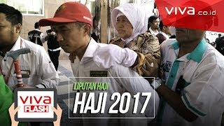 Tangis Bahagia Jemaah Haji Indonesia Saat Tiba di Mekah