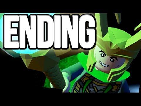 LEGO Marvel Super Heroes Movie Walkthrough Ending HD1080p No Commentary