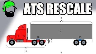 American Truck Simulator - RESCALE in open beta