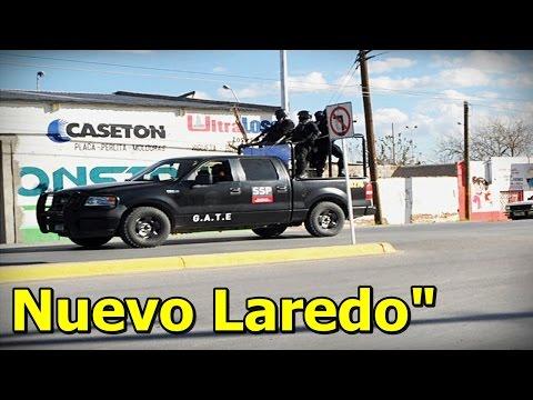 Graban Fuertes Enfrentamientos entre ZETAS vs Fuerzas Armadas en Nuevo Laredo, Tamaulipas