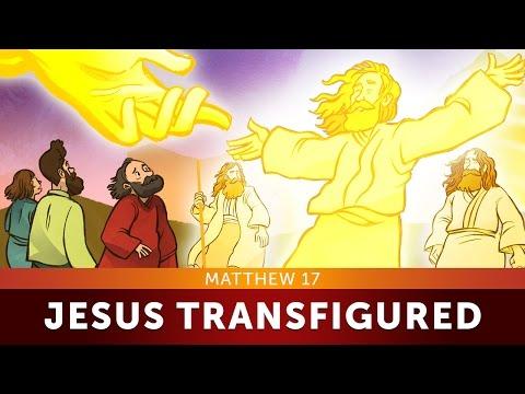 Jesus Transfigured - Matthew 17   Sunday School Lesson And Bible Story For Kids   Sharefaithkids.com