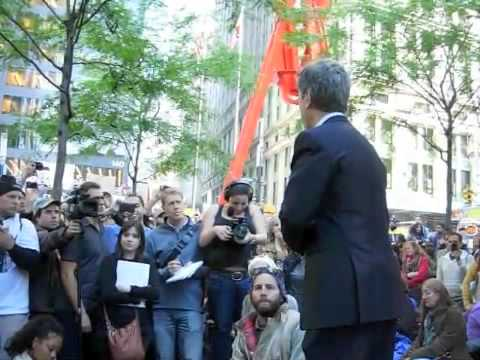 Jeffrey Sachs  Occupy Wall Street 10-7-2011 part 1