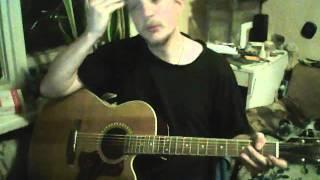Виктор Цой (Кино) Пачка сигарет (разбор на гитаре/guitar cover)