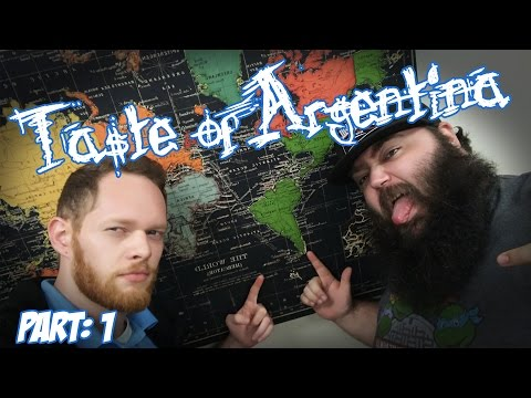 Taste of Argentina! w/ Digimazter and RBW! (400 sub Special!) part 1