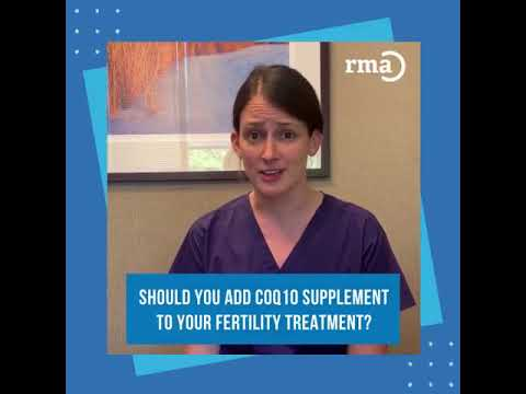 Should you add COQ10 supplement to your fertility treatment? | RMA Network