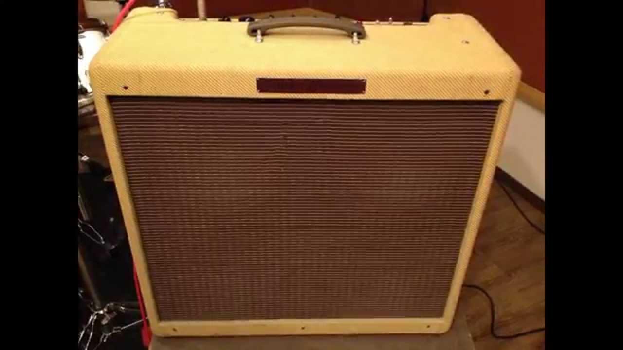 fender bassman amp demo clean tone with semi hollow guitar youtube. Black Bedroom Furniture Sets. Home Design Ideas
