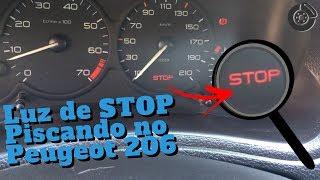 Luz de STOP Piscando no Peugeot 206 ⛔️
