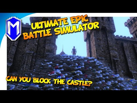 Can You Block The Castle With A Giant Wall Of Bodies - Timelapse - Ultimate Epic Battle Simulator