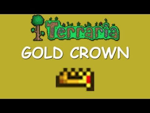 Terraria - Gold Crown