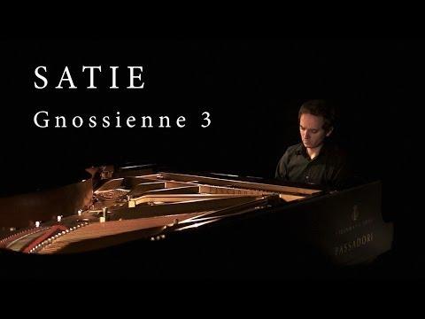 ERIK SATIE Gnossienne 3  Alessio Nanni, piano