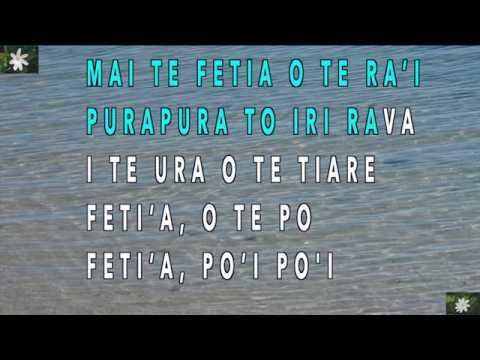 Purotu no te hura - Karaoke version by Manuia-Geek