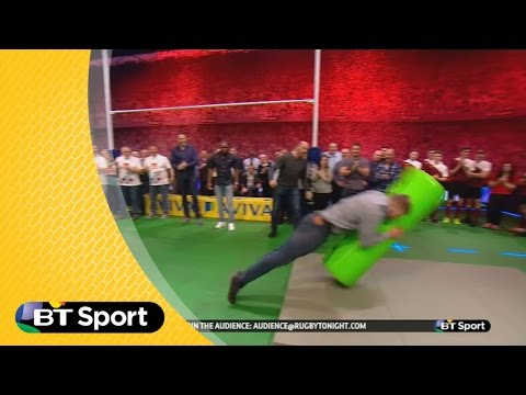 George Kruis posts a huge score on the Smash-o-meter | Rugby Tonight