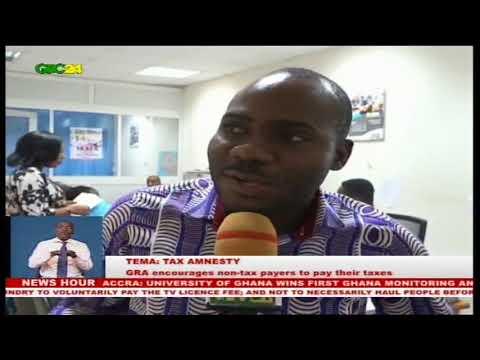 Tema: GRA encourages non-tax payers to pay their taxes