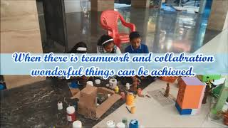 Making of 'S' Ward Science Exhibition 2018 - 19 at Abhay International School