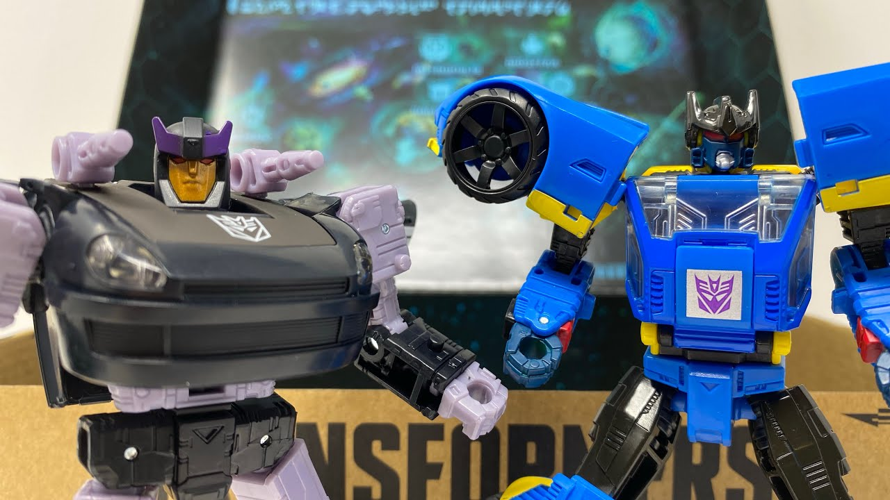 Transformers Dominus Criminal Pursuit Barricade & Punch/Counterpunch In-Hand Review