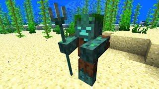 [Aquatic] Alles über das neue Mob! Drowned / Ertrunkene!