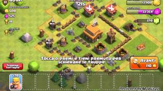 CLASH OF CLANS : Il villo di creeper 2109