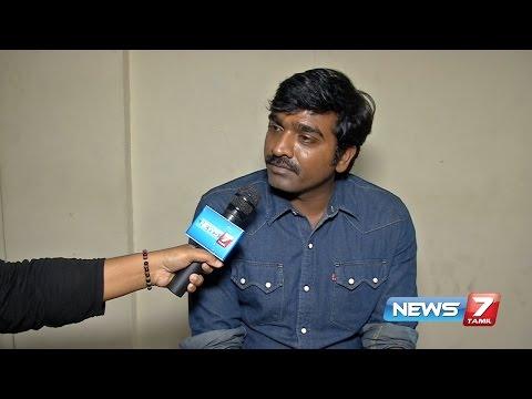 Vijay Sethupathi speaks about his upcoming...