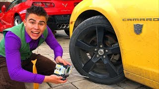 Mr. Joe found a Remote Control & Manages Car Chevrolet Camaro with Remote Control for Kids