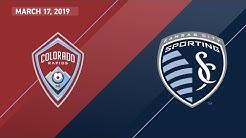 Colorado Rapids vs. Sporting Kansas City | HIGHLIGHTS - March 17, 2019
