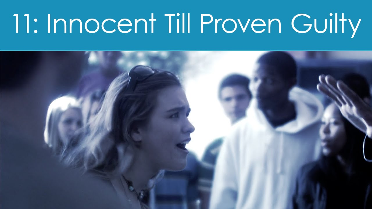 Human Rights Video #11: Innocent Until Proven Guilty   YouTube  Watch Presumed Innocent