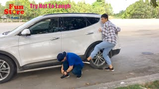 Funny Comedy Videos Try Not To Laugh - New Funny Prank Episode 3 | Fun Store