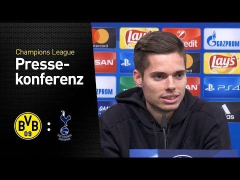 Livestream der Pressekonferenz vor dem Spiel gegen Tottenham Hotspur
